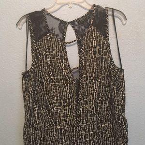 Forever 21 Black lace Jumpsuit