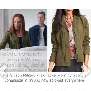 Gibson military coat