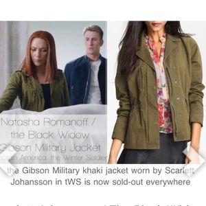 Gibson military coat
