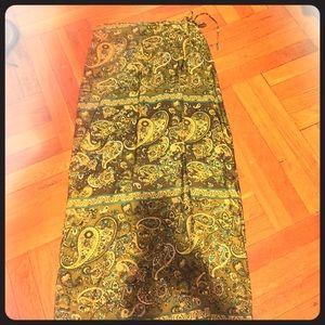 100% Silk Wrap Around Skirt