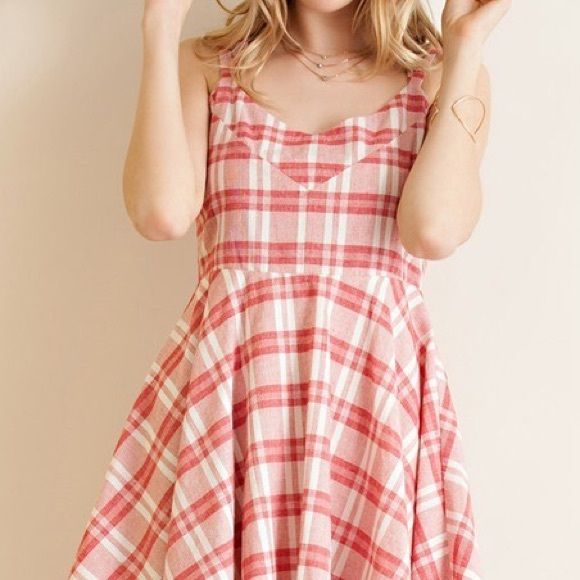 FINAL PRICE FIRM Plaid baby doll dress from Suggested user
