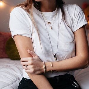 Layer Gold Stack Necklace
