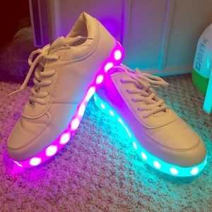 Shoes - Light Up White Sneakers