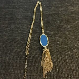 Kendra Scott inspired blue Rayne