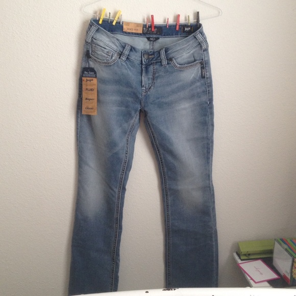 38% off Silver Jeans Denim - Light Wash Silver Jeans from Jeana's ...