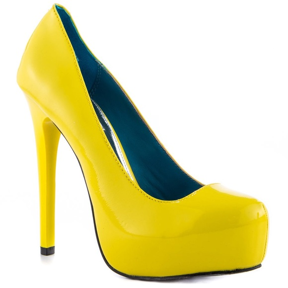 MIA Shoes - FINAL REDUCTION❗️Neon Yellow / Lime Pumps