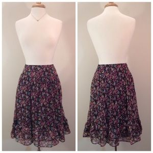 ▫️New Arrival▫️Floral Ruffle Skirt 🎀