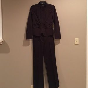 Etcetera Other - Exquisite ETCETERA dark brown lined suit Size 2