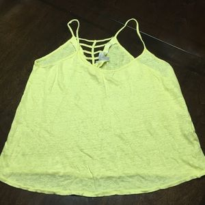 Zara Bright/Neon top