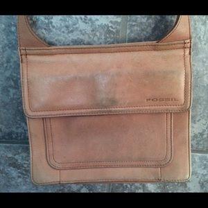 hermes leather bags - 82% off Fossil Handbags - Fossil Camel Tan CrossBody Medium Size ...