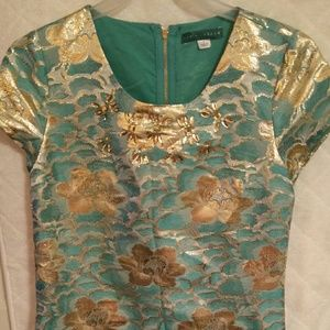 Gold Pim and Larkin Dress