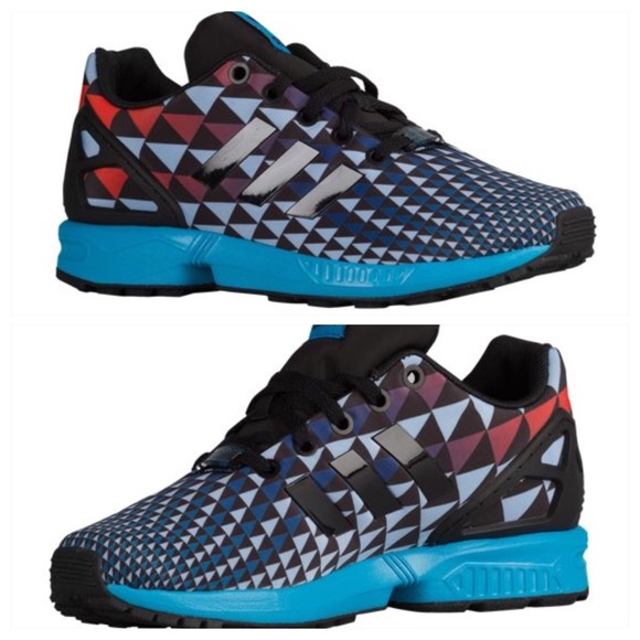 Details about ADIDAS ORIGINALS ZX FLUX C BOYS KIDS SNEAKERS S76300