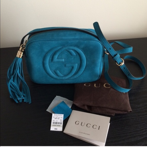 719f900b419 🎉HP🎉 GUCCI SoHo Nuback Leather Disco Bag