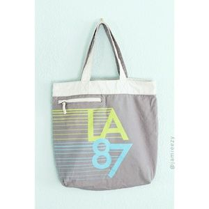Old Navy | Graphic Print Canvas Tote Bag