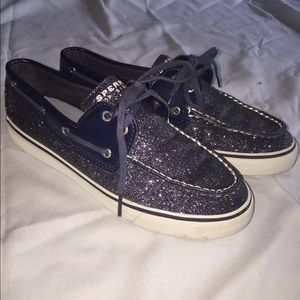 Sperry Top-Sider Boat Shoe, metallic blue