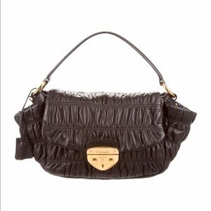 Prada Handbags - Prada Nappa Gaufre bag black