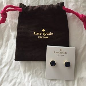 Kate Spade Navy earrings