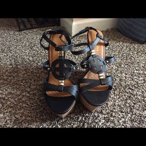 Shoes - NWOB Sexy Summer Wedges