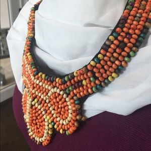Authentic beadwork necklace
