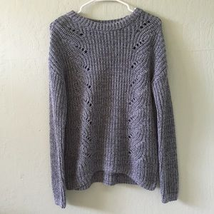 Grey Knit Sweater   Gap   S (NWT)