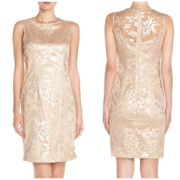 4cc8474107f Gorgeous Vince Camuto Champagne Sequin Dress