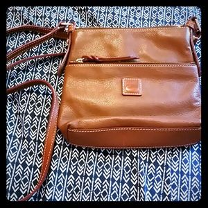 Leather Dooney and Bourke Crossbody bag