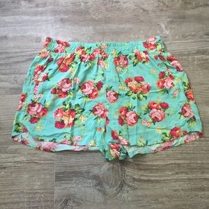 PACSUN/LA Hearts Floral Shorts (never worn before)