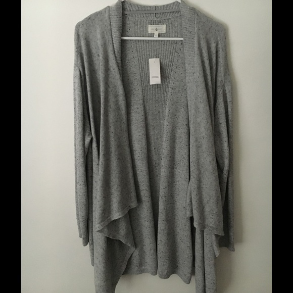78% off Lou & Grey Sweaters - Long sleeve open cardigan/ sweater ...