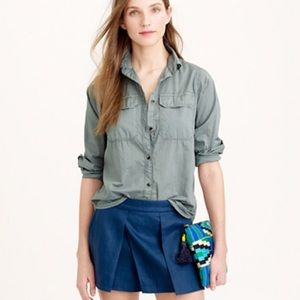 LOWEST PRICE J Crew Lightweight Camp Shirt