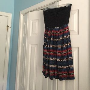 Strapless Billabong Dress