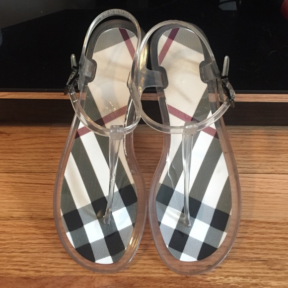 24c919bf8a90 Burberry Shoes - Burberry Jelly Thong Sandals