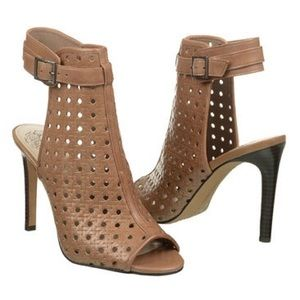 Vince Camuto leather bootie sandals