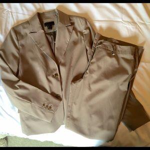 Khaki Jacket and Pants set