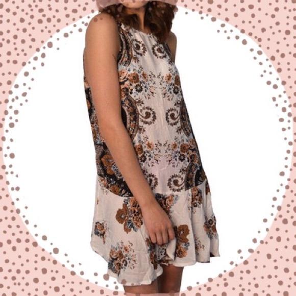 fef88478ce60 Free People Dresses | Dobby Dot Flouncy Hem Slip Dress | Poshmark
