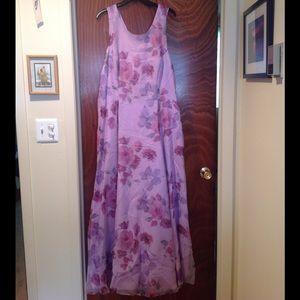 Dresses & Skirts - Marlene's: Lavender Floral Formal Gown