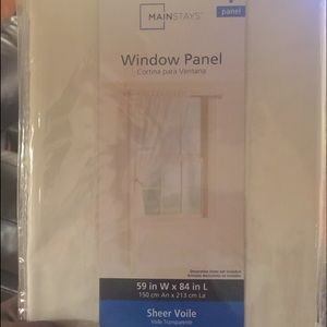 29 off other blackout window panels 52x63 quot new in package from