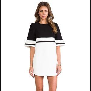 Cameo color block mini dress