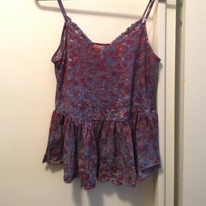 Free People Tops - Purple Free People Tank