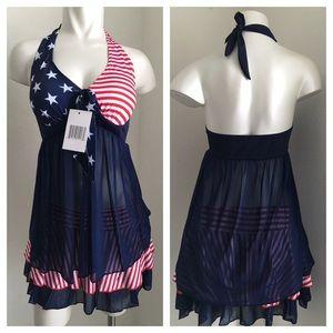 Other - 🎉🎉HP 5/3🎉🎉New - America Flag Bikini