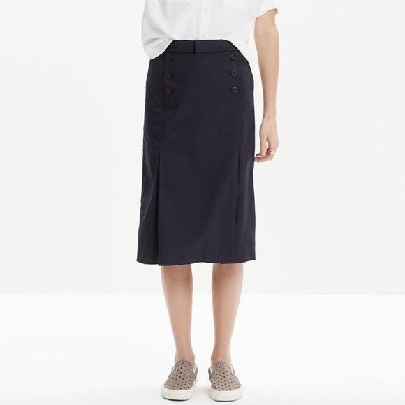 6aca211dd Madewell Dresses & Skirts - MADEWELL SAILOR SKIRT ~ NWT