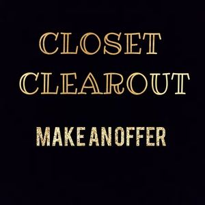 Other - DROPPED ALL PRICES CLOSET CLEAROUT MOVING TO COLLE