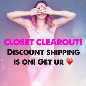 SALE FOR DISCOUNT SHIPPING!