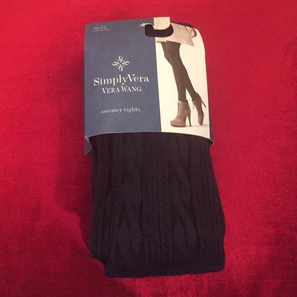 c4129d0c34fa5 Simply Vera Vera Wang Accessories | Sweater Tights | Poshmark