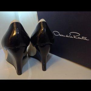 Oscar de la Renta Shoes - Oscar de la Renta Patent Leather Heels