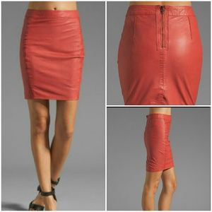 Muubaa Dresses & Skirts - REAL Leather pencil skirt from Nordstrom