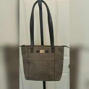Ralph Lauren  Handbags - Houndstooth print Ralph Lauren purse
