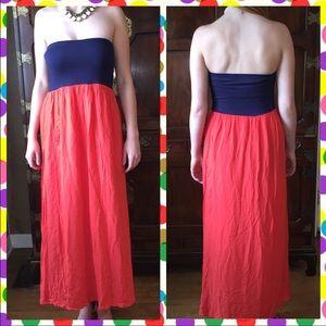 Alythea Dresses & Skirts - Alythea Strapless Maxi Dress. Size Large