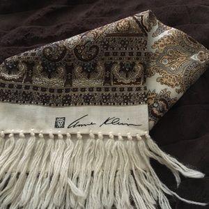 Vintage Anne Klein wool scarf