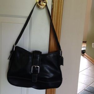 Authentic Black Coach Bag