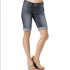 Silver Jeans Denim - Suki Mid Raise Bermuda
